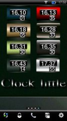 Clock little Mod